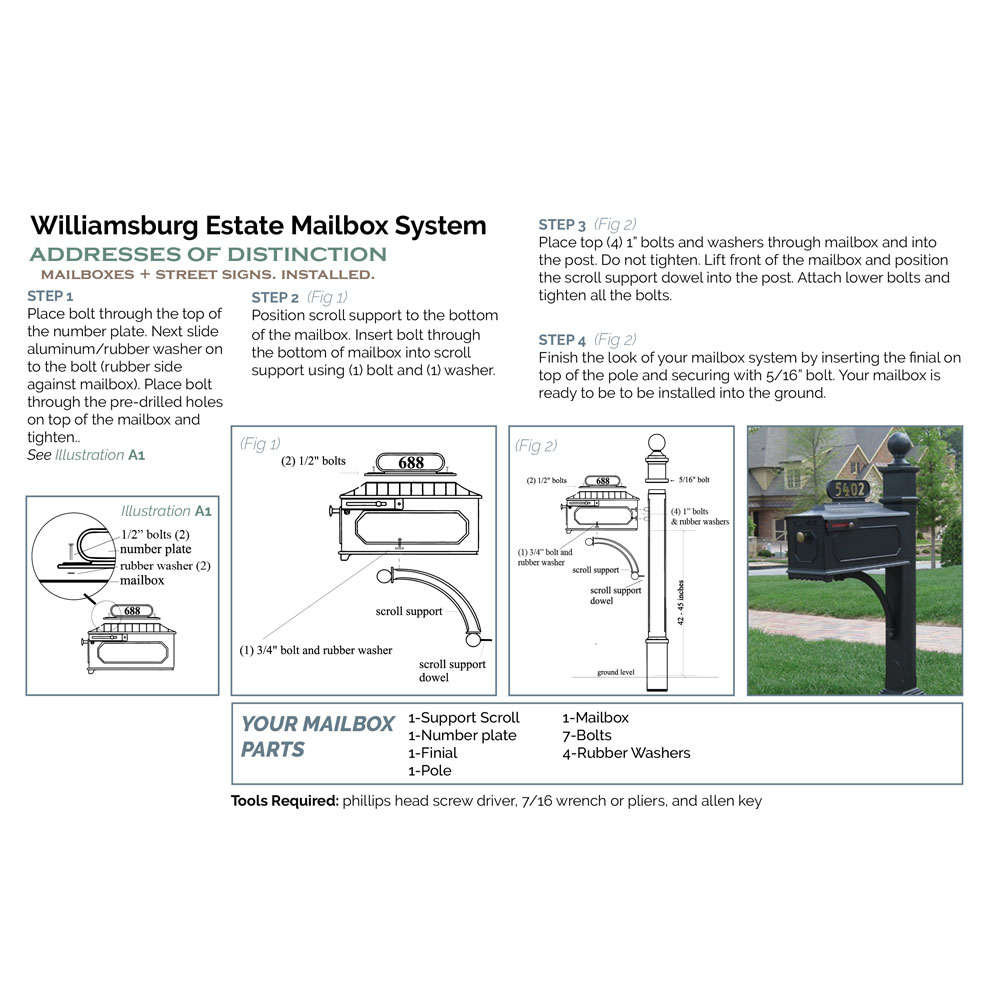 AOD-Williamsburg_688_Estate-Mailbox-Instruction_2018_1000x1000px.jpg